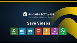 Audials 2016 in 120 Seconds: Save Videos from Streaming Services