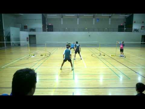 Wesley Play Badminton with Thailand Professionals 2016 - Part 2 of 2