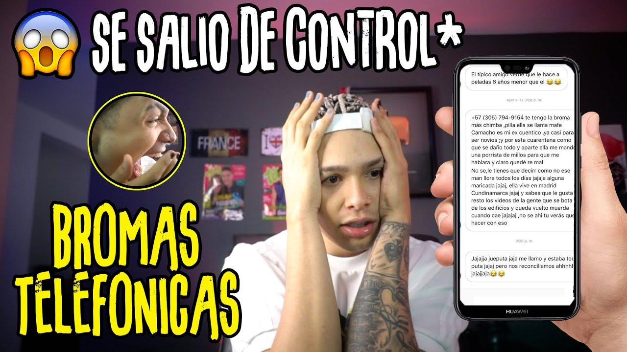 BROMAS TELEFONICAS A PAREJAS DE MIS FANS | *Muy Epico* | PAISAVLOGS