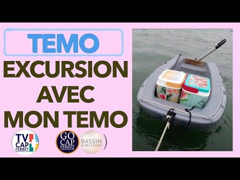 TEMO Moteur électrique  07 TUTO  Comment préparer une balade en bateau au Cap Ferret