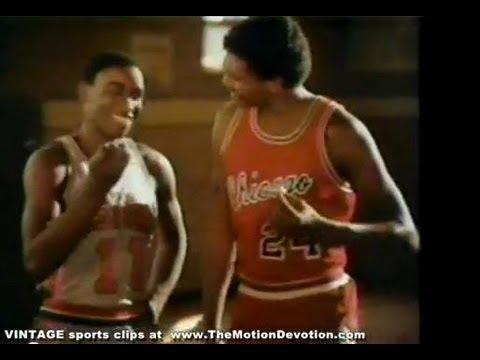 ISIAH THOMAS & REGGIE THEUS : 1983 anti-smoking ad