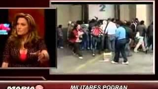 TERREMOTO CHILE  MIAMI  MARIA ELVIRA LIVE 03 02 2010
