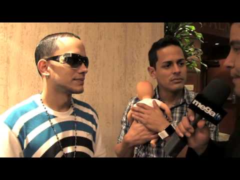 Khriz Y Angel Interview For Paparazzi t.v On Mega T.V