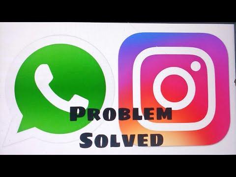 Whatsapp, Instagram &