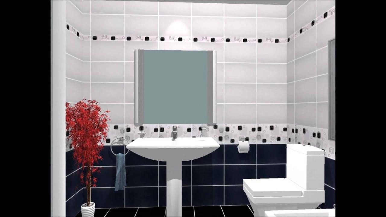 Design 3d pentru baie la castilio colectia linea youtube Architecture si
