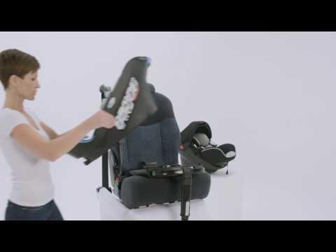 Siège-Auto Pivotant SATELLITE ISOFIX- MyCarsit - Groupe 0+ - Vidéo d'installation
