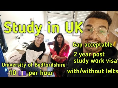 Study In UK April 2020 Intake| New Updates 2020 | University Of Bedfordshire| | Part Time Jobs|
