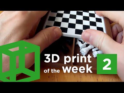 3D print of the week 2 | Mini chess