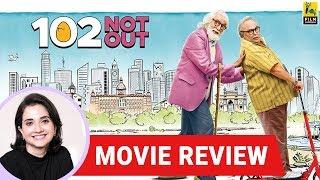 Anupama Chopra's Movie Review of 102 Not Out | Umesh Shukla | Amitabh Bachchan | Rishi Kapoor