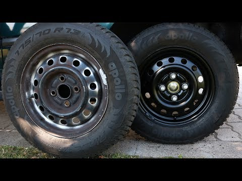 Honda Civic - Steel Wheel Painting