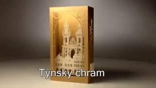 Prague LUXURY 3D POP UP CARDS