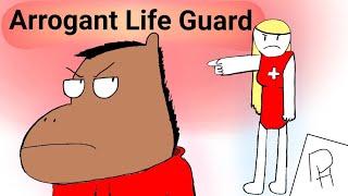 Der Arrogante Life Guard (Animierte Geschichte Video)