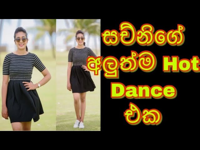 Sachini nipunsala new hot dance