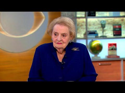 Madeleine Albright talks fascism, 'most undemocratic president'