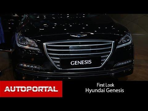 Hyundai Genesis at Auto Expo 2016 AutoPortal