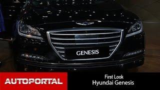 Hyundai Genesis at Auto Expo 2016 AutoPortal смотреть