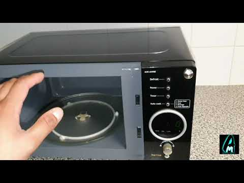 Daewoo KOR-6N9RB Microwave Oven (Review)
