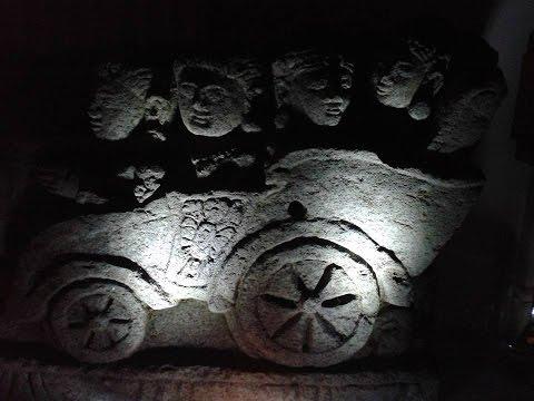 Ancient Volcanic Stone Frieze
