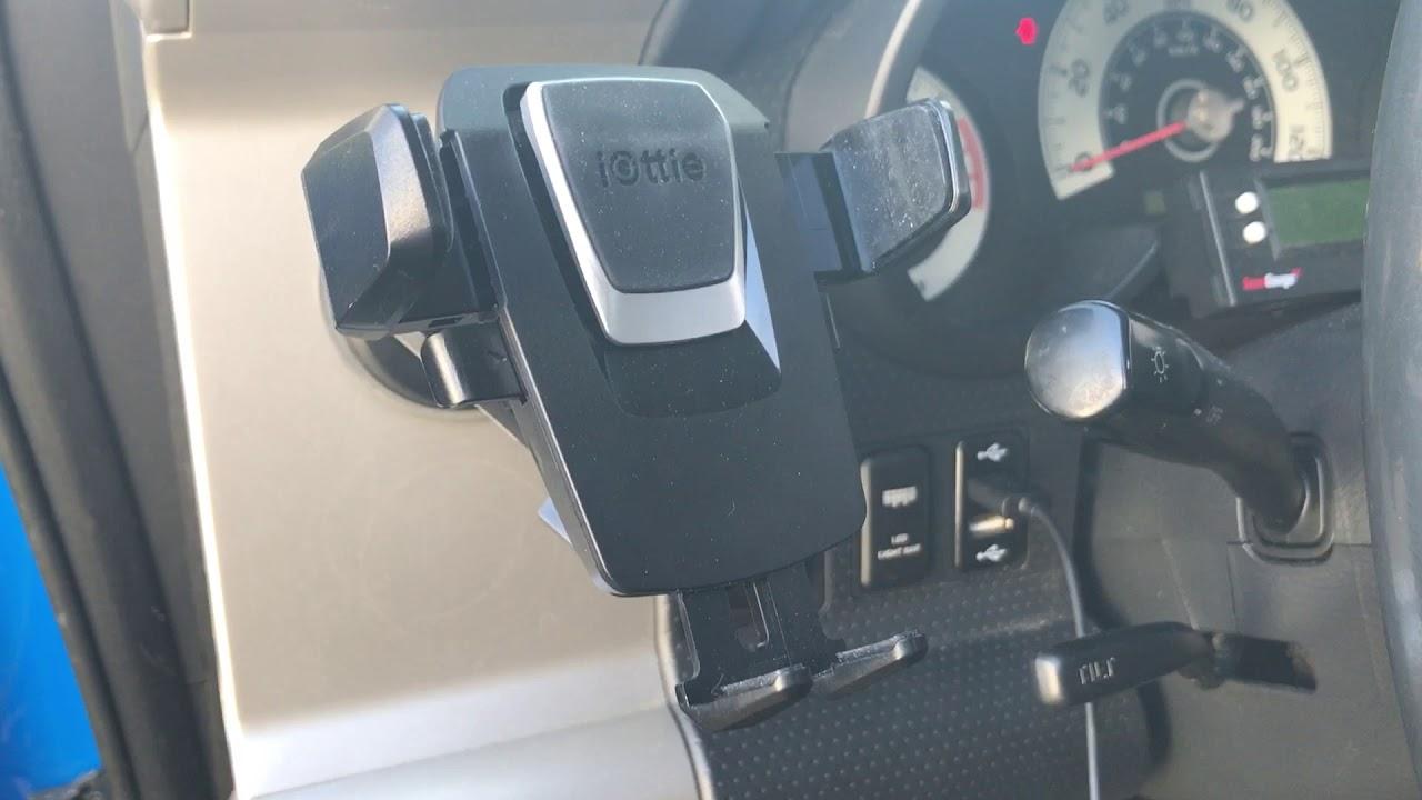 Fj Cruiser Iottie Phone Mount And Custom Usb Port Youtube 2007 Fuse Box
