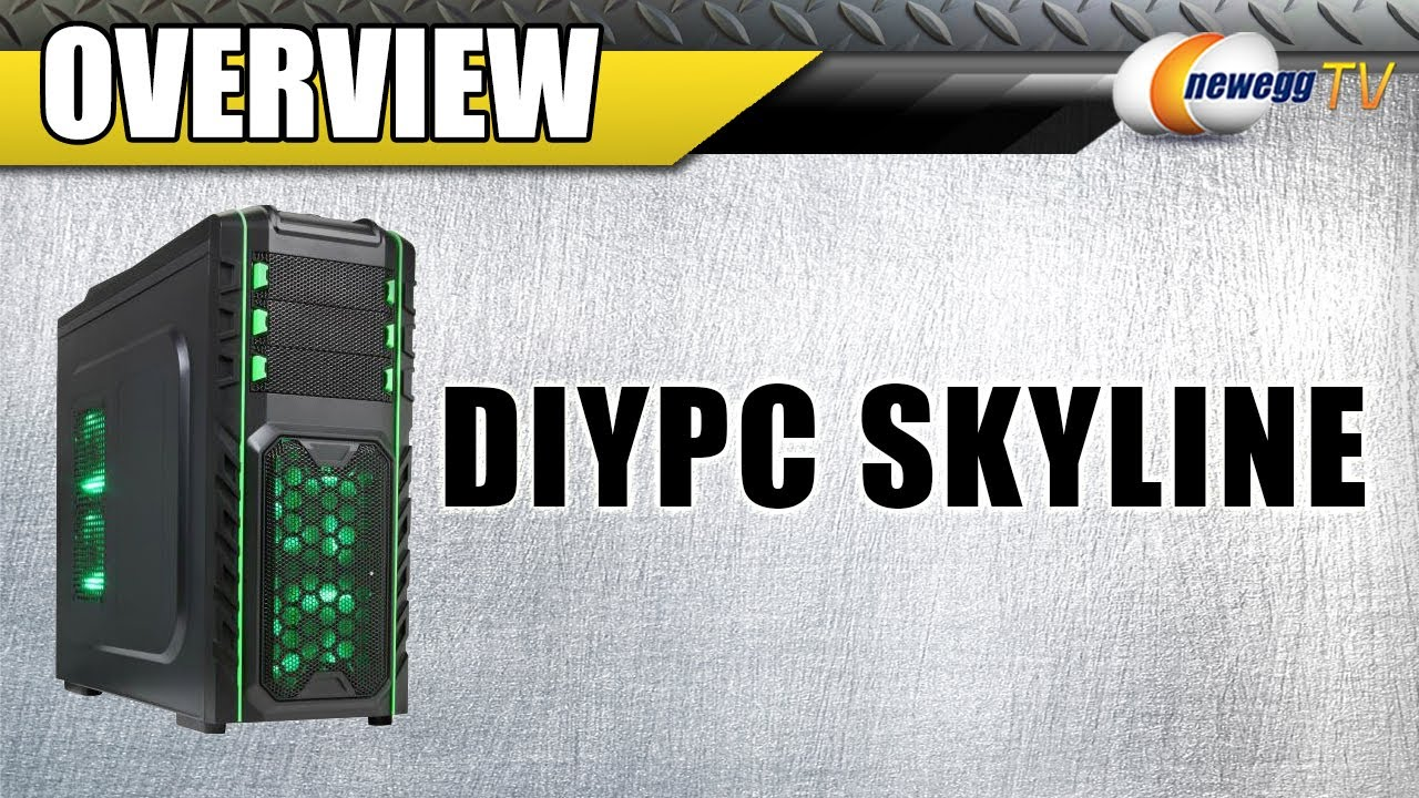 maxresdefault diypc skyline atx full tower gaming computer case overview  at n-0.co