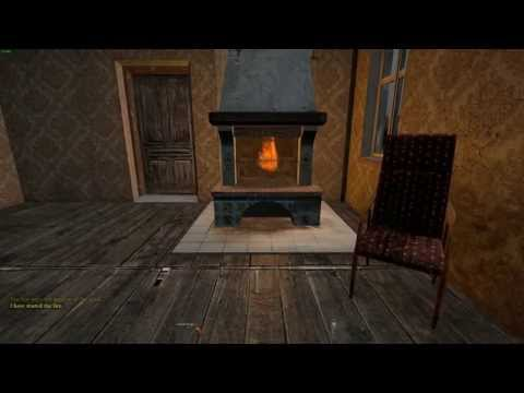 DayZ Crafting Indoor Fire  Place