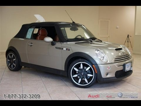 2007 MINI Cooper S Sidewalk Convertible Supercharged