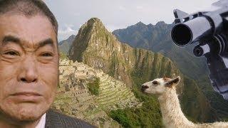 ペルーの首都リマ郊外でNHKの番組スタッフらが撮影用カメラなどを奪...