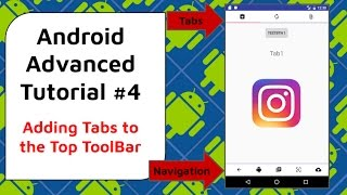 Tab Navigation with Custom ToolBar [Android Material Design] - Android Advanced Tutorial #4