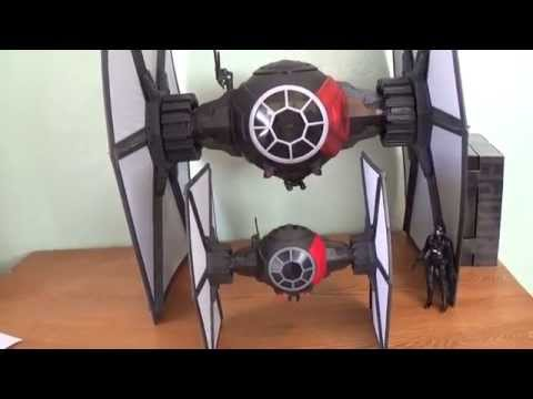 Star Wars The Black Series 6''  First Order Tie-Fighter  Toy Review
