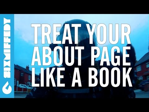 Treat Your About Page Like A Book To Get More Subscribers