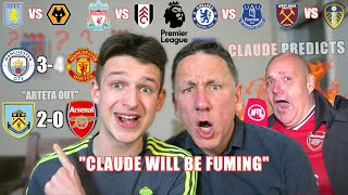 CITY vs UNITED with AFTV Claude - Gameweek 27 Premier League Predictions
