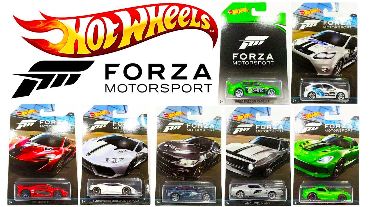 new hot wheels forza motorsport toy car series youtube. Black Bedroom Furniture Sets. Home Design Ideas