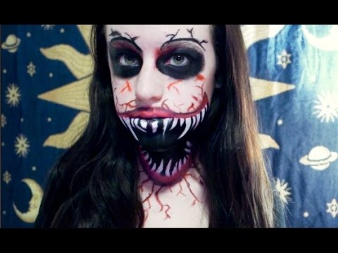 Monster Mouth Makeup Time Lapse || Madison.Tripi.Sfx - YouTube
