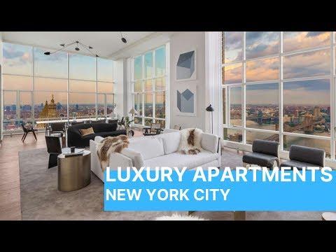 Inside A New York City $15 Million Dollar Penthouse - Come Inside!