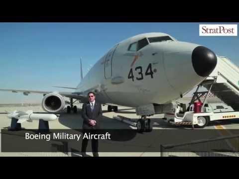 StratPost | US Navy Boeing P-8A at Dubai Airshow 2015
