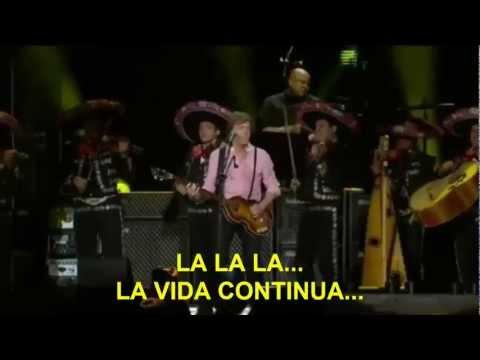 Paul McCartney- OB LA DI OB LA DA (Subtitulada Español) (Zócalo México: 2012)