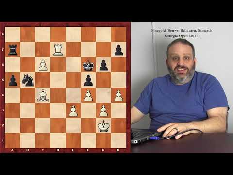 Rook and Bishop vs. Rook and Knight Endgames, with GM Ben Finegold