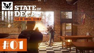 Let's Play State of Decay #01 - Auf in die Zombie-Apokalypse [Gameplay German Deutsch]