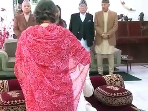 KING GYANENDRA BHAITIKA LAGAUDAI 2073 KO