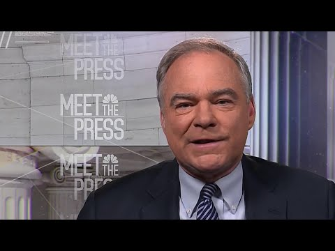 Full Tim Kaine Interview: Trump wall is a 'vanity project' | Meet The Press | NBC News