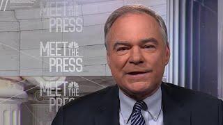 Full Tim Kaine Interview: Trump wall is a 'vanity project' | Meet The Press | NBC News