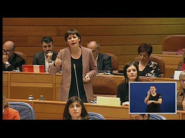 """Ana Pontón a Feijóo: """"Vostede non ten unha axenda galega, ten unha axenda en contra d@s galeg@s"""""""