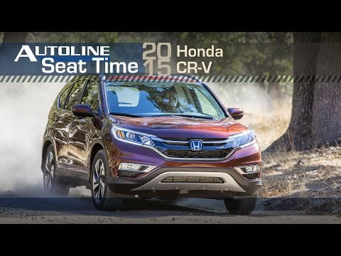 Tall People Rejoice at New Honda CR-V Feature - Seat Time