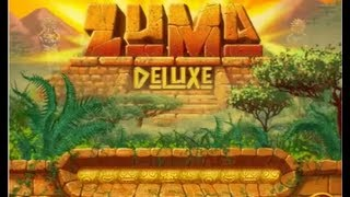 Zuma Deluxe Playthrough - Part 1 : Temple 1 (Temple of Zukulkan)