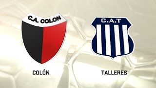 Colon de Santa Fe vs Talleres full match