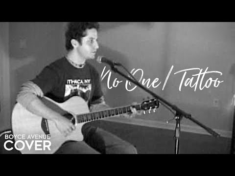 Alicia Keys / Jordin Sparks / Black Eyed Peas — No One / Tattoo (Boyce Avenue acoustic cover)