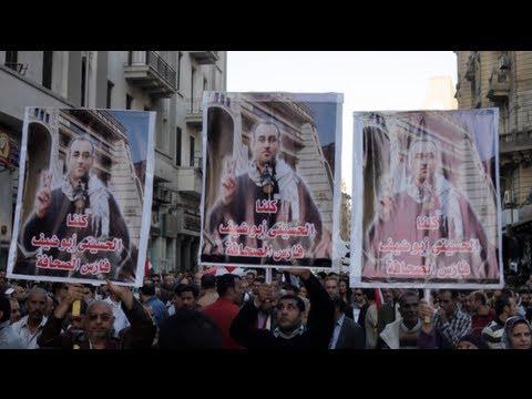رصاص الإخوان في رأس الصحفي الحسيني أبو ضيف
