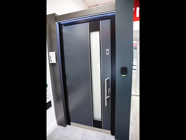 Internorm AT410 Front Door with biometic entry