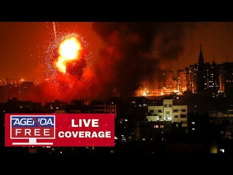 All-Night Fighting Between Israel and Gaza - LIVE COVERAGE
