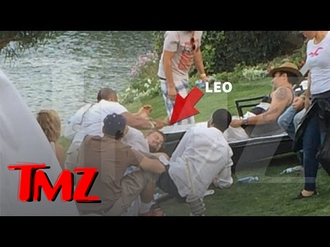 Leonardo DiCaprio Manhandled Like a Bitch At Coachella | TMZ